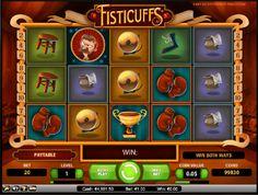Hrací automaty Fisticuffs zdarma - Boxuj a nevzdávej se své šance vyhrát na hracím automatu Fisticuffs zdarma. #HraciAutomaty #VyherniAutomaty #Jackpot #Vyhra #Fisticuffs