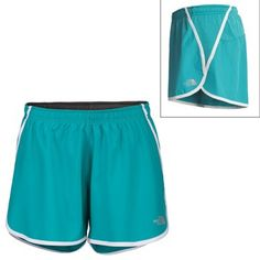 Great The North Face running shorts! Have two pairs of these -- pocket in the back is great and roomy for gels and stuff!