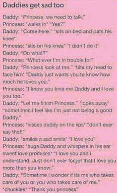 Daddys Girl Quotes, Daddy's Little Girl Quotes, Daddy Dom Little Girl, Little Things Quotes, Happy Girl Quotes, Ddlg Quotes, Bae Quotes, Submarine Quotes, Dominant Quotes