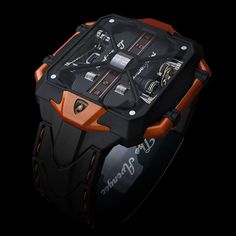 What a watch! Avenger Vertical Tourbillon Watch by Marko Petrovic...