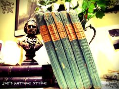 antique vintage french books