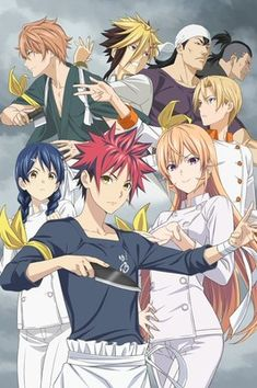 Food Wars Saison 3 Vf Streaming : saison, streaming, Shokugeki
