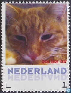 Postage Stamps - Netherlands [NLD] - Cat Billy