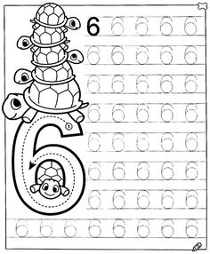 New System-Suitable Numbers Line Study - Preschool Children Akctivitiys Preschool Writing, Numbers Preschool, Math Numbers, Preschool Printables, Preschool Lessons, Kids Writing, Preschool Learning, Kindergarten Worksheets, Preschool Activities