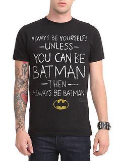 DC Comics Batman Be Yourself T-Shirt | Hot Topic