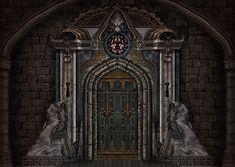 Chess Room Door