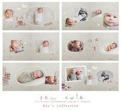 Sew Cute Boys 10x10 WHCC Album Family Photo Album, Family Photos, Photography Templates, Photo Books, Baby Album, Album Design, Wedding Album, Pta, Christening