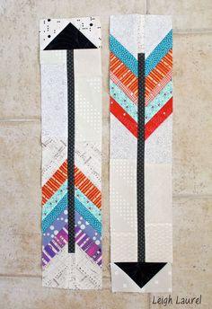 Arrow blocks for dgs by karin jordan Boy Quilts, Scrappy Quilts, Mini Quilts, Arrow Quilt, Southwestern Quilts, Shirt Quilt, Quilt Tutorials, Paper Piecing, Quilt Patterns