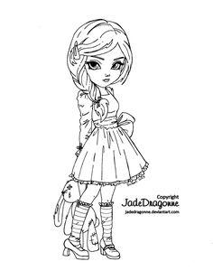 Bunny by *JadeDragonne on deviantART