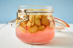 Rhubarb gin, and 11 infused gins At any time of year there's a seasonal fruit that's perfect for steeping in gin. Take a look at our favourite infused gin recipes and give your drinks cabinet a fruity boost. Strawberry Gin, Raspberry Gin, Rhubarb Gin, Rhubarb And Custard, Gin Recipes, Cocktail Recipes, Cocktails, Rhubarb Alcohol Recipes, Cafe Recipes