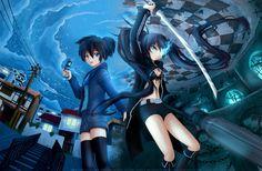 Black rock shooter #anime #manga
