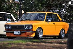 Datsun 510 Bluebird by hightopfade, via Flickr