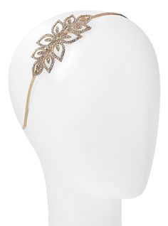 L. Erickson Crystal Square Flower Headband - Light Gold/Crystal ** Check this awesome product by going to the link at the image. (Amazon affiliate link)