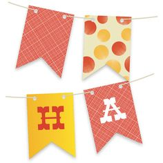 'Greatest Circus Personalizable Bunting Banner', on Minted.com