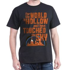 """Star Trek Retro World Is Hollow T-shirt This retro design is inspired by the classic Star Trek episode """"For The World Is Hollow And I Have Touched The Sky"""". CafePress.com"""
