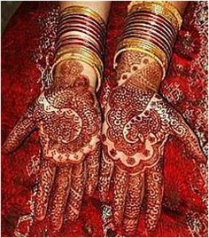 Lovevivah: What more Significance of Marriage??    A) Mehndi  B) Bindi  C) The Colour Red