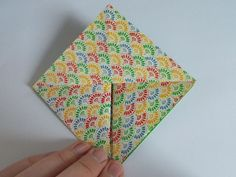 origami easter bunny basket diagram - Google Search