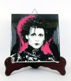Edward Scissorhands High Quality Ceramic Tile / by TerryTiles2014