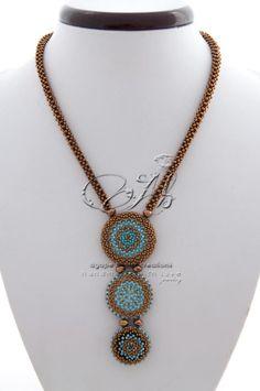 dea del sole #necklace #collana #bronze #raw3d