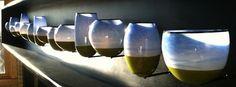 Jon Offutt series of hand blown glass