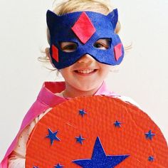 Every caped crusader needs a shield to help battle against evil. Learn how to help the young Superhero in your life complete this super easy craft!