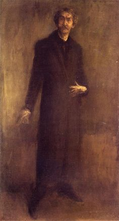The Athenaeum - Brown and Gold (James Abbott McNeill Whistler - )