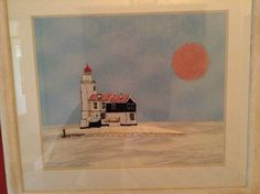 """The lighthouse, """" het paard van Marken"""" in Holland"""