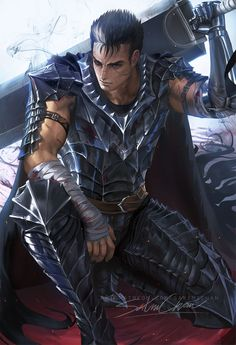 Official Post from Sakimi Chan: Guts from Berserk. Big fan of the manga <3 Guts is different from what I usually like to paint but his Berserk armor was very fun to work on XD ! NSFW preview ► (This piece is part of term 58 reward sign up from August 1-18) ◄ Term 58 rewards will be send out 5th of Septembers comes with Tier 1( 3