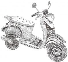 Showcase: Doodle Your Ride - Doodlers Anonymous