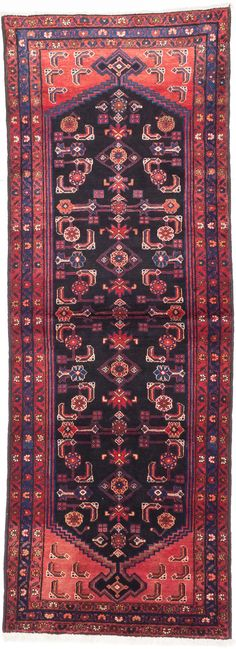 Handwoven in Iran, Hamadan rugs are one of the most prized Persian rugs.