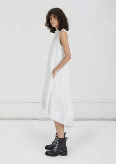 Smock Neck Dress