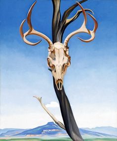 Hand painted reproduction of Deers Skull with Pedernal 1936 painting. This masterpiece was painted originally by Georgia O Keeffe. Commission your beautiful hand painted reproduction of Deers Skull with Pedernal Choose from many different sizes. Wisconsin, Santa Fe, Pinturas De Georgia O'keeffe, Georgia O'keefe Art, Georgia O Keeffe Paintings, Kunsthistorisches Museum, Alfred Stieglitz, Johannes Vermeer, Deer Skulls