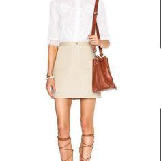 APC khaki skirt sz 8 nwt Pocket front khaki skirt APC Skirts Mini