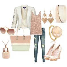 Summer Nights, created by breemendoza on Polyvore