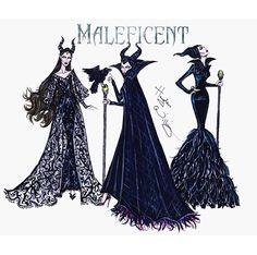 Maleficent different wardrobe