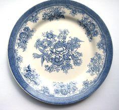 Egersund Norway vintage dinner plate
