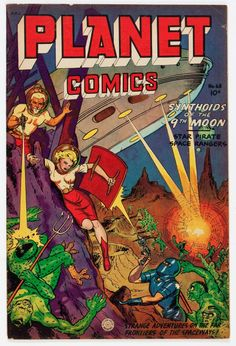 Planet Comics #68 (Fiction House), 1952