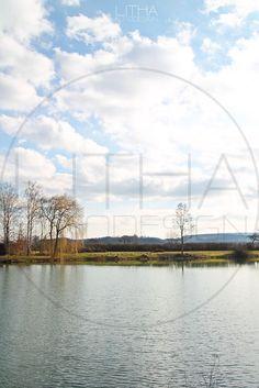 Wolken über dem See. #see #wolken Designer, Photo Studio, Clouds, Landscape, Architecture, Nature, Photo Illustration