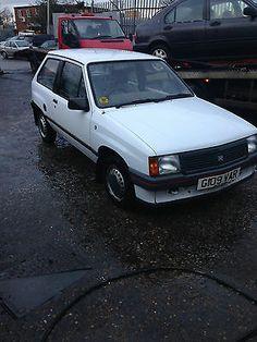 1989 Vauxhall Nova Merit White   - http://classiccarsunder1000.com/archives/27600