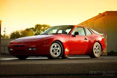 944 Red Porsche. My first and unforgettable love.