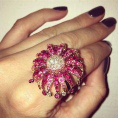 "Plukka (@plukka) on Instagram: ""The most glorious, feminine pink creation by @ferrarifirenze tonight at our La Bella Vita event in…"""