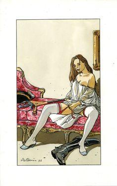 Epervier ( Marion ) par Patrice Pellerin - Planche originale