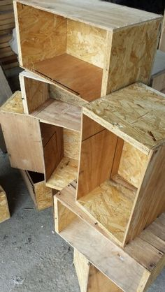 Osb boxes. Not many stock.