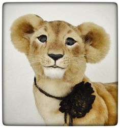 OOAK realistic lifesize LION CUB by Francesca Boretti **KALEideaSCOPE**
