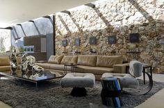 open living room, modern