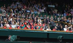 Revealed - who's who in the VERY Royal Box at Wimbledon