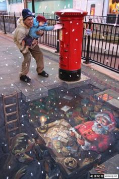7 Stunning Street Arts by Julian Beever   Most Beautiful Pages