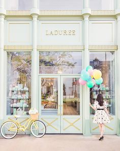 """Window shopping Pictured: Mademoiselle Ladurée limited edition print"""