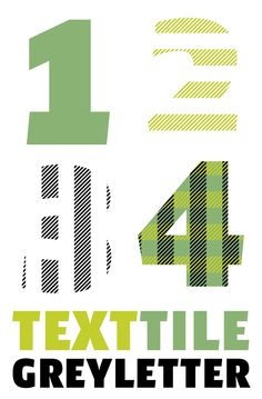 TextTile is a system of heavy sans titling faces which can be utilized to carry a repeating chromatic pattern across words and letters. It stands apart from other chromatic faces, where layered effects typically interact only within each letter and do not carry through from one letter to another.