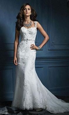 Alfred Angelo 854: buy this dress for a fraction of the salon price on PreOwnedWeddingDresses.com